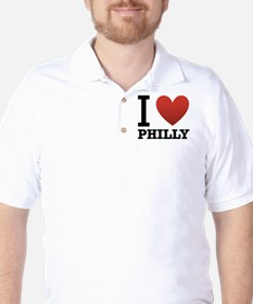 i-love-philly.png Golf Shirt