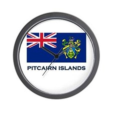 Flag of The Pitcairn Islands Wall Clock