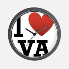 I-Love-Virgina.png Wall Clock