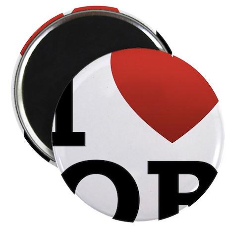 """I-Love-Oregon.png 2.25"""" Magnet (10 pack)"""