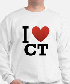 i-love-ct.png Sweatshirt