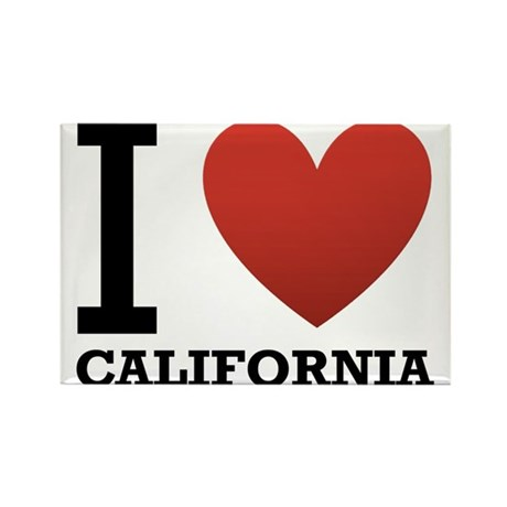 i-love-california.png Rectangle Magnet (10 pack)