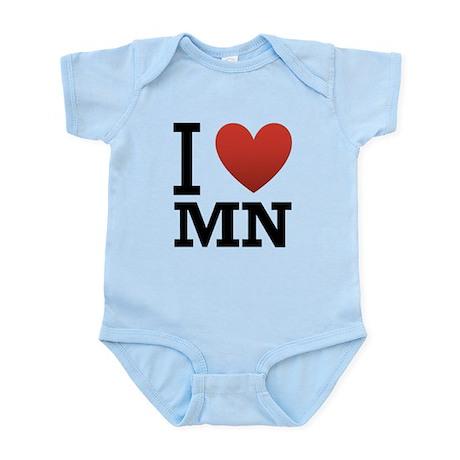 i-love-MN.png Infant Bodysuit