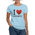 I Love Sports Women's Light T-Shirt