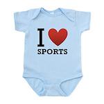I Love Sports Infant Bodysuit
