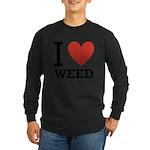 i-love-weed.png Long Sleeve Dark T-Shirt