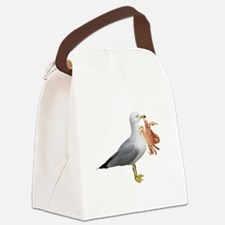 gullcrabW.png Canvas Lunch Bag