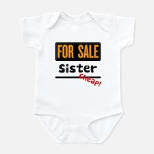 Sister for Sale Infant Bodysuit