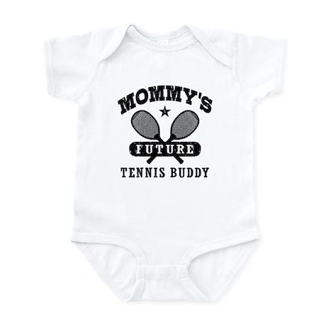 Mommy's Future Tennis Buddy Infant Bodysuit