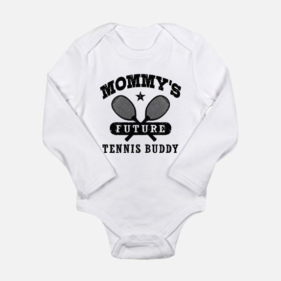 Mommy's Future Tennis Buddy Baby Suit