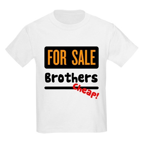 Brothers for Sale Kids T-Shirt