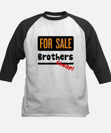 Brothers for Sale Kids Baseball Jersey