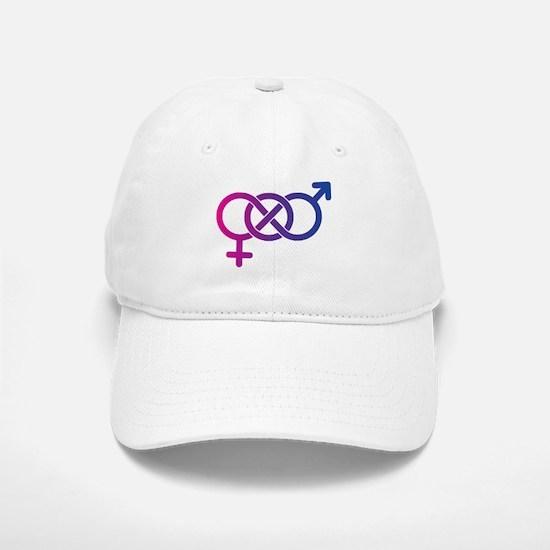Bi Pride Multicolor Logo Baseball Baseball Cap