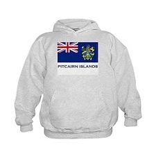 The Pitcairn Islands Flag Gear Hoody