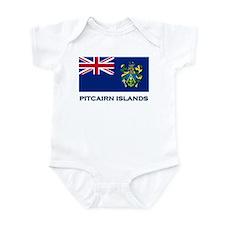 The Pitcairn Islands Flag Gear Infant Bodysuit
