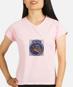 496th Tactical fighter Sq. Performance Dry T-Shirt