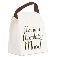 Chocolatey Mood Canvas Lunch Bag
