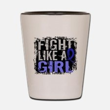 Licensed Fight Like a Girl 31.8 AS Shot Glass