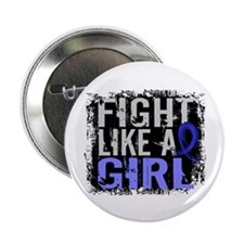 """Licensed Fight Like a Girl 31.8 AS 2.25"""" Button"""