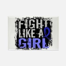 Licensed Fight Like a Girl 31.8 A Rectangle Magnet
