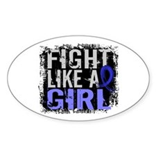 Fight Like a Girl 31.8 AS Decal