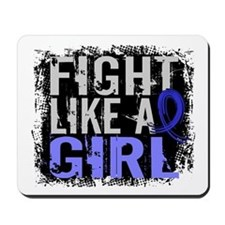 Licensed Fight Like a Girl 31.8 AS Mousepad