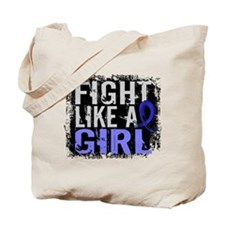 Licensed Fight Like a Girl 31.8 AS Tote Bag