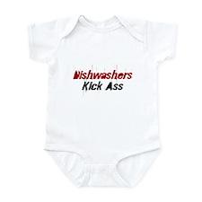 Dishwashers Kick Ass Infant Bodysuit