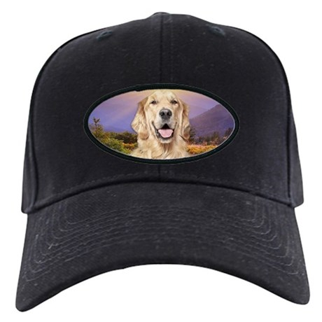Golden Retriever Meadow Black Cap