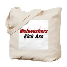 Dishwashers Kick Ass Tote Bag