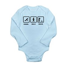 RC Car Long Sleeve Infant Bodysuit