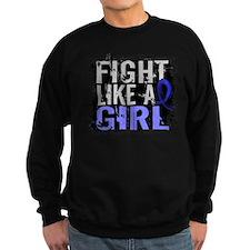 Fight Like a Girl 31.8 Guillain–Barré Sweatshirt