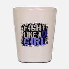 Fight Like a Girl 31.8 Guillain–Barré Shot Glass