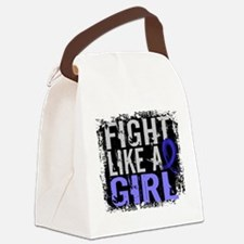 Fight Like a Girl 31.8 Guillain–Barré Canvas Lunch