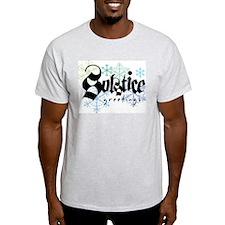 Solstice Greetings Ash Grey T-Shirt