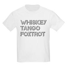 WHISKEY TANGO FOXTROT ci T-Shirt