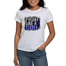 Licensed Fight Like a Girl 31.8 RA Tee