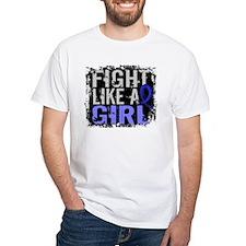 Licensed Fight Like a Girl 31.8 RA Shirt