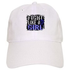 Licensed Fight Like a Girl 31.8 RA Baseball Cap