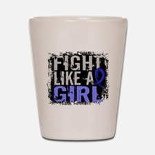 Licensed Fight Like a Girl 31.8 RA Shot Glass