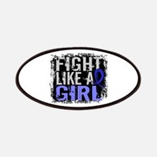 Licensed Fight Like a Girl 31.8 RA Patches