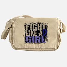 Licensed Fight Like a Girl 31.8 RA Messenger Bag
