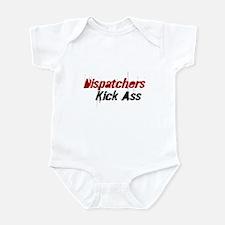 Dispatchers  Kick Ass Infant Bodysuit