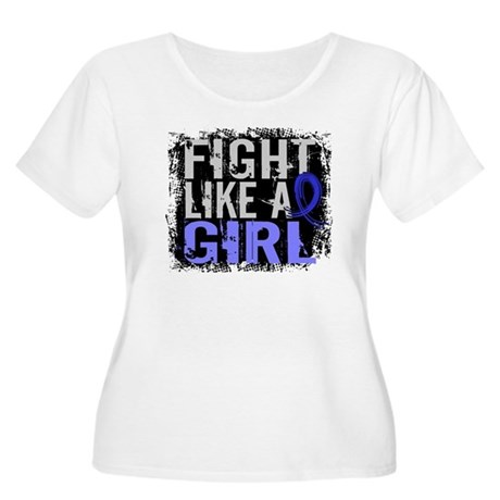 Fight Like a Girl 31.8 Huntingtons Women's Plus Si