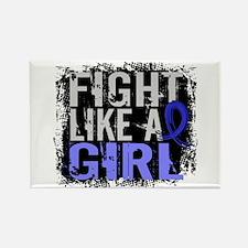 Fight Like a Girl 31.8 Huntingtons Rectangle Magne