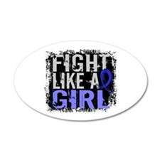 Fight Like a Girl 31.8 Huntingtons Wall Decal