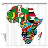 Africa Shower Curtains