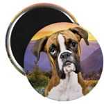 Boxer Meadow Magnet