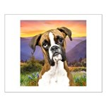 Boxer Meadow Small Poster