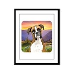 Boxer Meadow Framed Panel Print